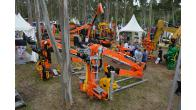 Industrias Guerra shows at GALIFOREST 2018 (Boqueixón.Spain) a wide range of forestry machinery